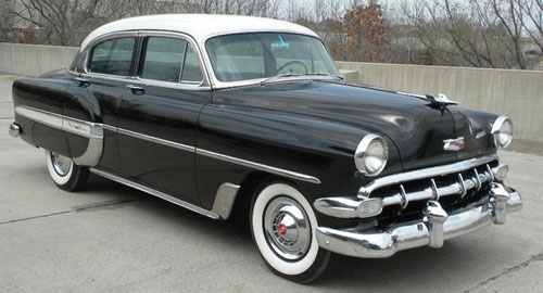 The family wagon for 1954 chevy belair 4 door