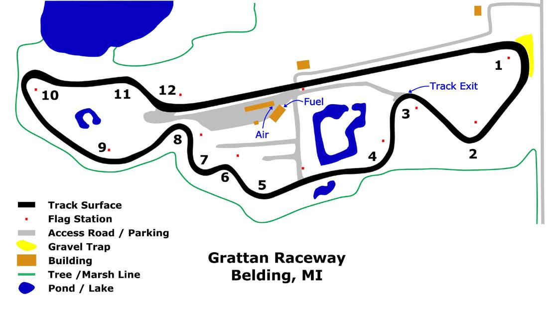 Hpde At Grattan Raceway Mi With Audi Club